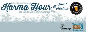 The UpaDowna Karma Hour & Silent Auction @ Bristol Brewing Co | Colorado Springs | Colorado | United States