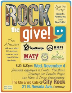 UpaDowna @ Rock the Give! @ The Ute & Yeti | Colorado Springs | Colorado | United States