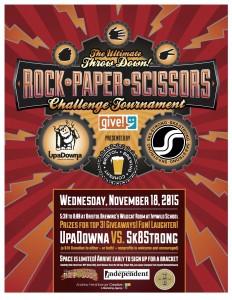 The 3rd Annual Rock-Paper-Scissors Tournament! @ Bristol Brewing Co | Colorado Springs | Colorado | United States