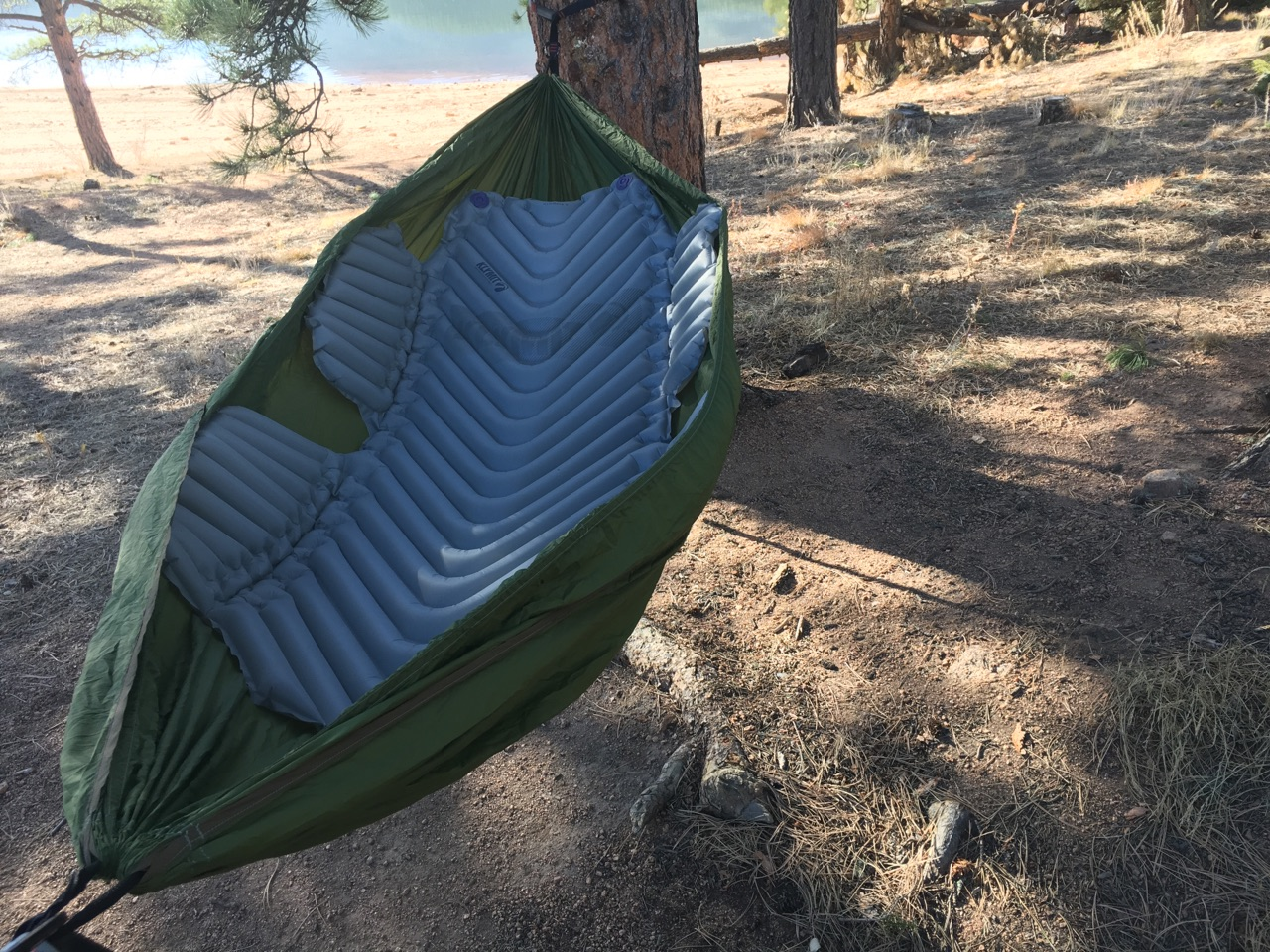 Fact  The Klymit Hammock V Pad Is Ridiculously Comfortable Adds Warmth 4