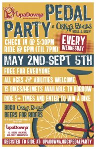 2018 Pedal Party @ Oskar Blues Grill & Brew @ Oskar Blues Grill & Brew | Colorado Springs | Colorado | United States
