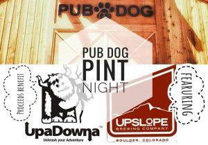 Pub Dog Pint Night- Benefit Night for UpaDowna @ Pub Dog | Colorado Springs | Colorado | United States