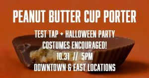 Test Tap Halloween Party & Indy Give kickoff @ FH Beerworks