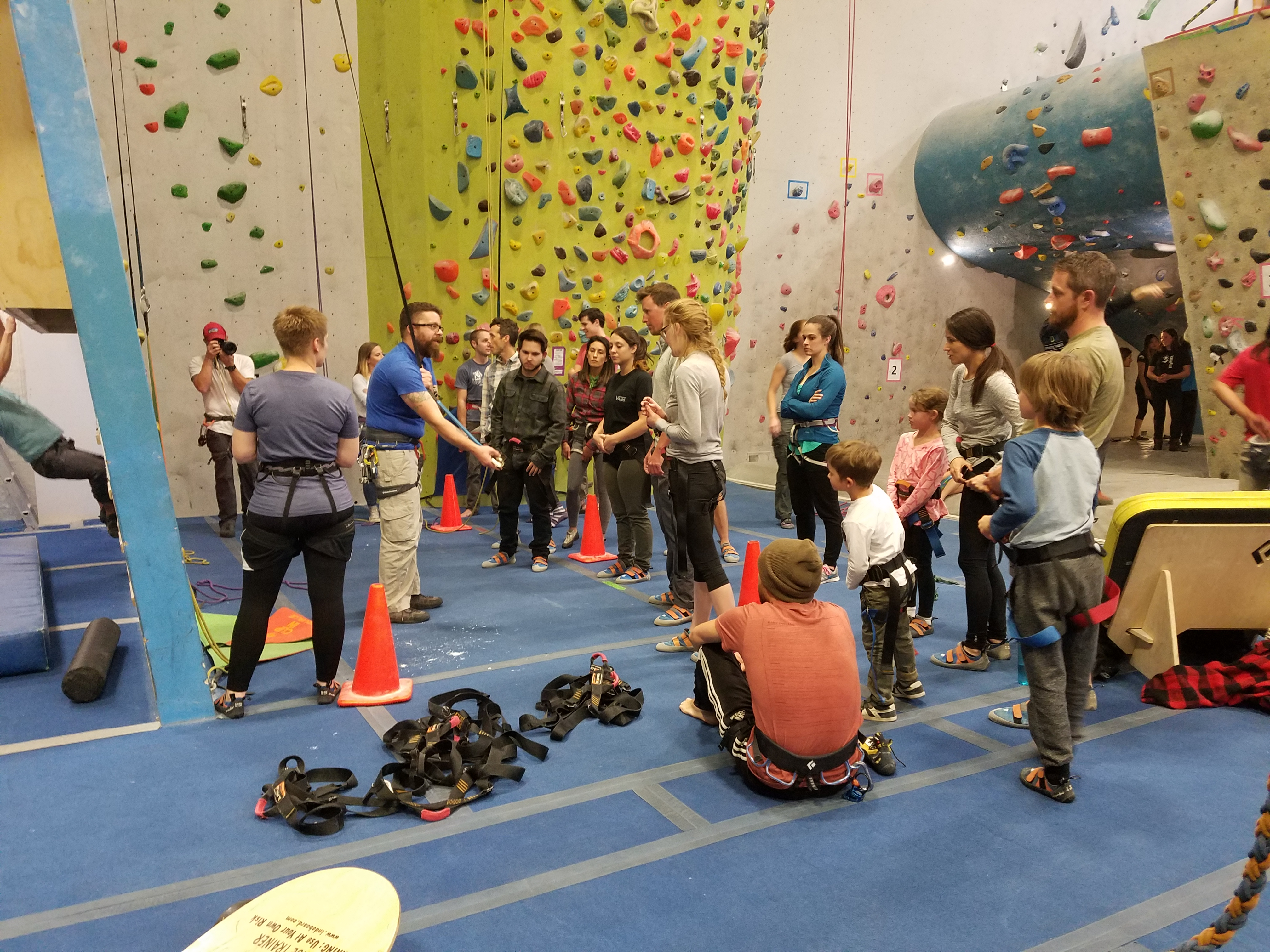 Canceled- Intro To Climbing Class