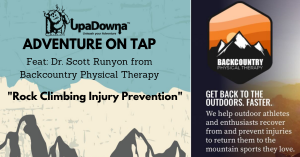 """Adventure on Tap Speaker Series- """"Rock Climbing Injury Prevention"""" Feat: Dr. Scott Runyon @ Trails End Taproom   Colorado Springs   Colorado   United States"""