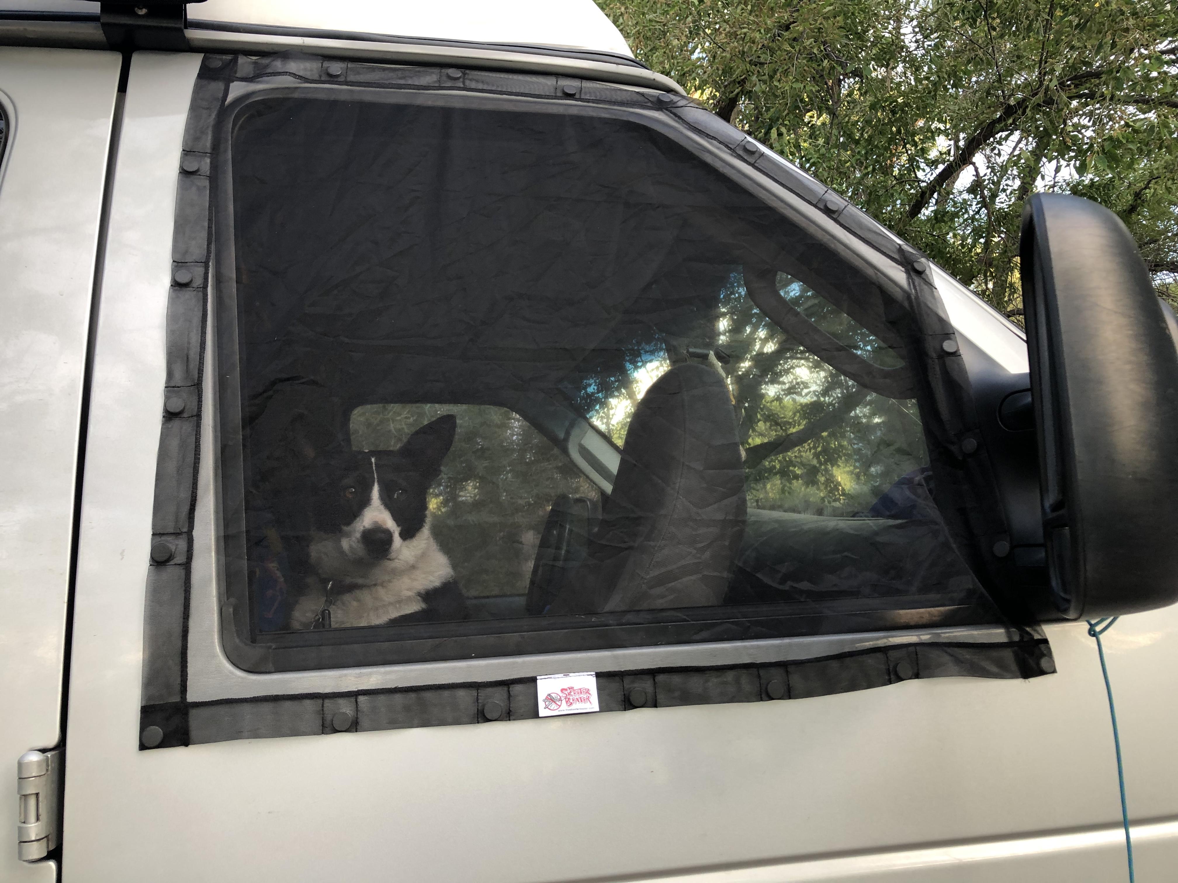 Skeeter Beater Vehicle Window Screens