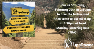 February Incline Happy Hour @ Incline Base Camp | Manitou Springs | Colorado | United States