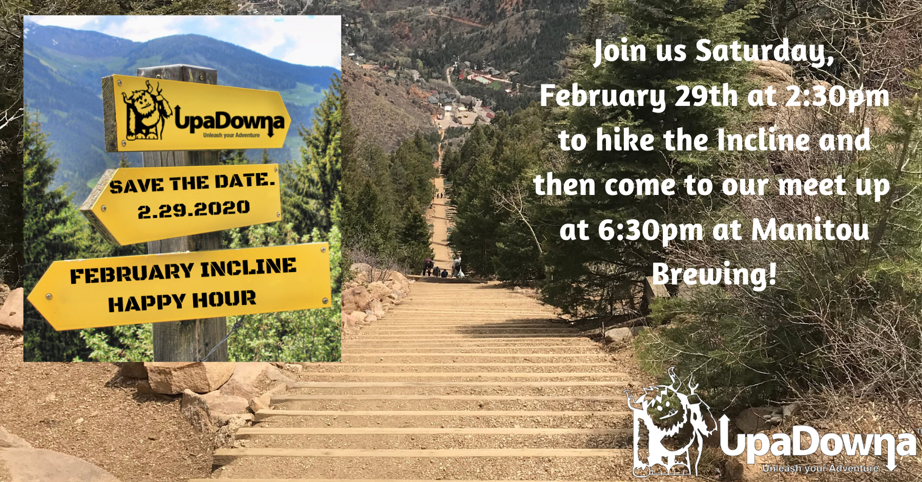 February Incline Happy Hour (Meet Up: Manitou Brewing Company)