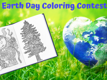 Earth Day Coloring Contest