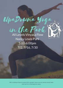 UpaDowna Yoga in the Park @ Nancy Lewis Park | Colorado Springs | Colorado | United States