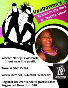 UpaDowna's Zumba in the Park with Natilia Sibert @ Nancy Lewis Park | Colorado Springs | Colorado | United States