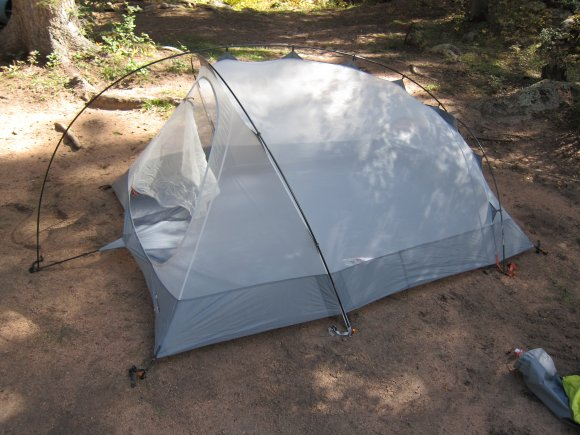 At first I thought the system would be lame but it actually really helped and due to the bend of the ridge pole it holds the vestibule fabric out farther ... & Easton Kilo 3P Tent u2013 UpaDowna