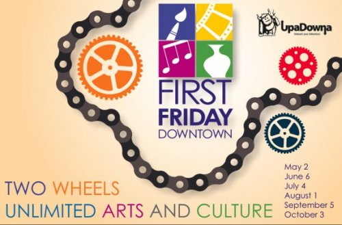 First Friday Postcard