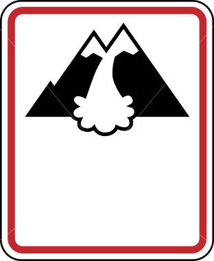 Ist2 6231510 Warning Avalanche Danger