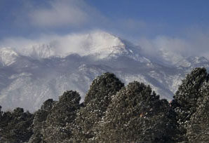 Pikes Peak Snow